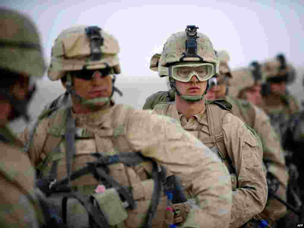 На юге Афганистана в провинции Гильменд морская пехота США начала крупную операцию против талибов