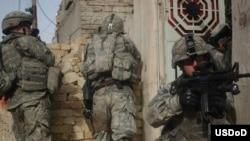بنا بر گزارش پنتاگون، تعداد حمله ها در عراق به نسبت ماه مارس، ۶۲ درصد کاهش يافته است
