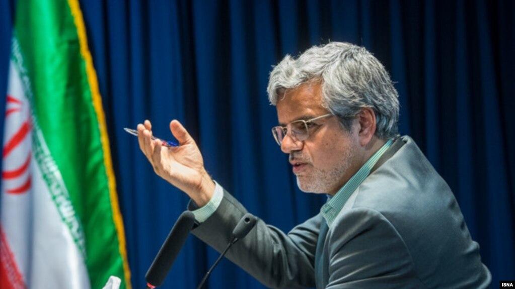FILE - Mahmoud Sadeghi, Tehran's representative in parliament.