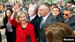 Американскиот државен секретар Хилари Клинтон во Каиро
