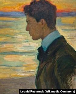 Борис Пастернак на картине Леонида Пастернака. 1910