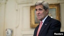 ABŞ-nyň döwlet sekretary Jon Kerri, Waşington, 20-nji iýul, 2015.