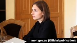 Министр образования Украины Анна Новосад