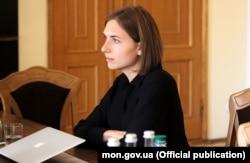 Міністр освіти і науки України Ганна Новосад