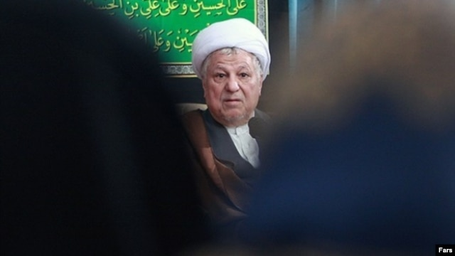 Ali Akbar Hashemi Rafsanjani, who was president from 1989-97, currently heads Iran's Expediency Council.