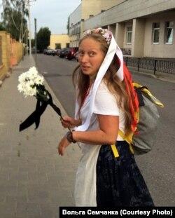 Вольга Семчанка, архіўнае фота