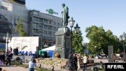 Пушкин - часть российской жизни. Даже литературная премия названа именем его персонажа Ивана Белкина