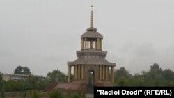 Национальный памятник Древний Куляб в центре одноименного города.