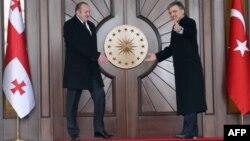 Վրաստանի և Թուրքիայի նախագահների հանդիպումը Անկարայում, 20-ը հունվարի, 2014թ․