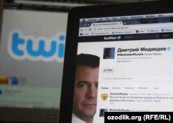Ресей үкімет басшысы Дмитрий Медведевтің Twitter-дегі ресми парағы. (Көрнекі сурет)