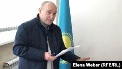 Теміртаулық журналист Олег Гусев. Теміртау, 31 қазан, 2018 жыл.