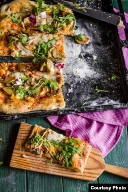 Піцца з сырам