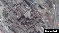 "Вид на завод ""Электроцинк"" во Владикавказе со спутника (Google Earth)"