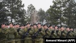 Pjesëtarë të Forcës së Sigurisë së Kosovës (FSK).