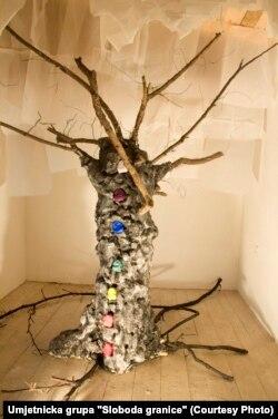 """Rad """"Drvo života, čovjek smrti"""", ustupljena fotografija"""