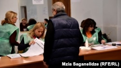 Georgian voters will elect 58 municipal and district heads as well as five mayors in today's local elections.