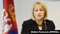 Slavica Đukic Dejanović, ministarka bez portfelja