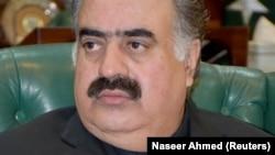 نواب ثنا الله زهري د مسلم ليګ نواز له خوا د بلوچستان وزيراعلی وو.