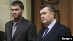 Viktor Yanukovych oğlu Viktorla