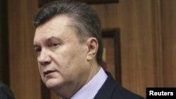 Виктор Янукович, бывший президент Украины.