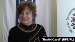 Paraschiva Badescu, head of the OSCE's election observation mission in Tajikistan