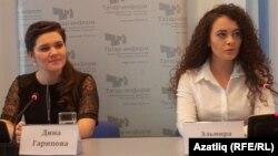 Динә Гарипова һәм Эльмира Кәлимуллина