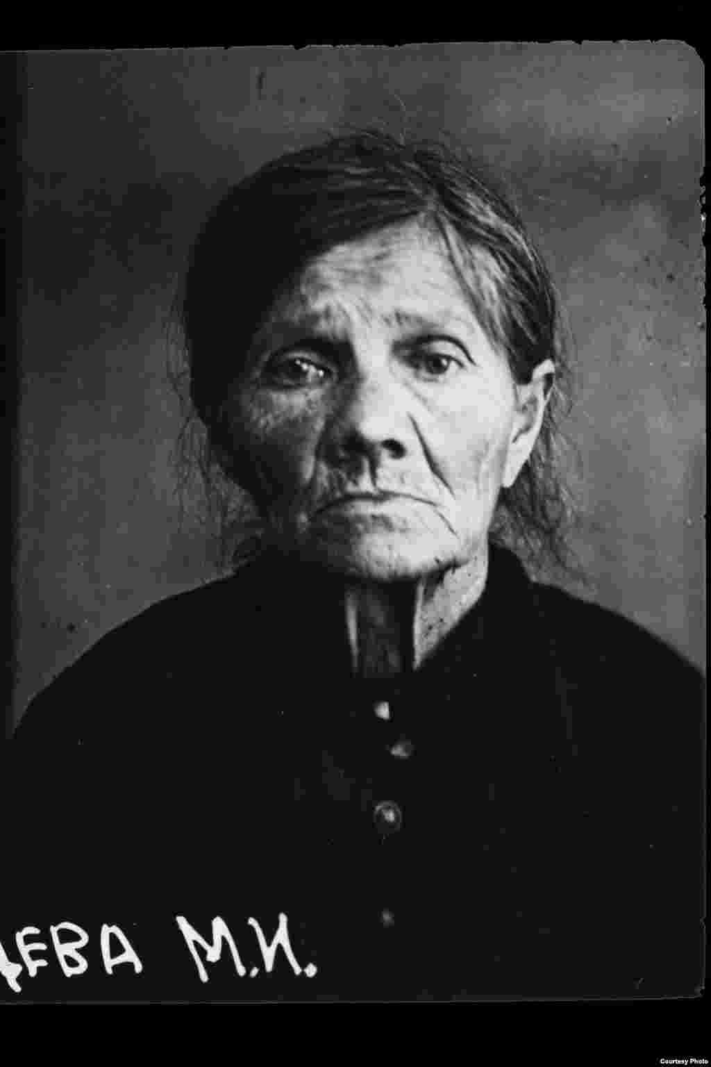 Marfa Ilichna Ryazantseva: Russian; born 1866 in Makhachkala, Tverskaya Oblast; uneducated; no party affiliation; retired; lived in Moscow, 1st Meshchanskaya Street 62/26. Arrested on August 27, 1937. Sentenced to death on October 8, 1937. Executed on October 11, 1937. Rehabilitated in 1989.