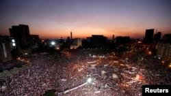 Демонстрация противников Мохаммеда Мурси на площади Тахрир