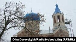 130 річний храм Вознесіння у селі Кам'янка Тельманівського району