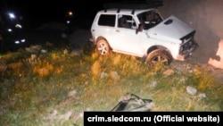 Автомобіль, в якому загинула дитина в селі Строгановка