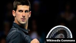 Serb tennis player Novak Djokovic (file photo)