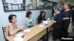 Armenia - Yerevan city elections, 5May,2013