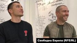 Симеон Василев (вляво) и Димитър Богданов