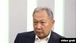 Курманбек Бакиев.