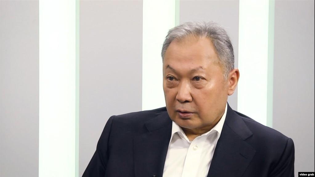 Қурмонбек Боқиев - президенти пешини Қирғизистон