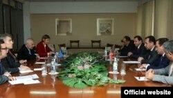 Herbert Zalber Ermənistanda göüş keçirir, 20 Okt, 2016