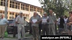 «Վանաձոր-Քիմպրոմ»-ի ՋԷԿ-ի նախկին աշխատակիցներն արգելափակել են գործարանի դարպասները