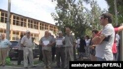 «Վանաձոր-Քիմպրոմ»-ի աշխատողների հերթական բողոքի ակցիան, արխիվ
