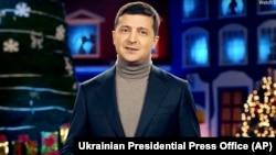 Новогоднее обращение Владимира Зеленского