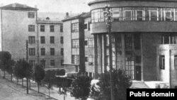 Будынак былой Нацыянальнай бібліятэкі неўзабаве пасьля адкрыцьця ў 1932 годзе
