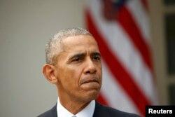 Președintele Barack Obama în cursul dimineții