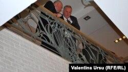 La negocieri precedente la Tiraspol...