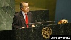 Afghanistan's UN Ambassador Zahir Tanin (file photo)