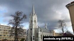 Лютэранская кірха ўГорадні