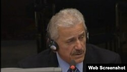 Miloš Milinčić na suđenju Radovanu Karadžiću