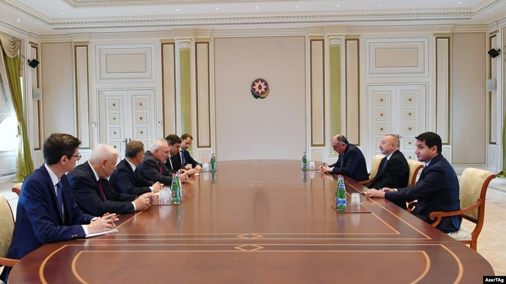 Президент Азербайджана принял сопредседателей Минской группы ОБСЕ