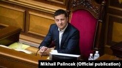 Президент України Володимир Зеленський у Верховній Раді, 3 вересня 2019 року