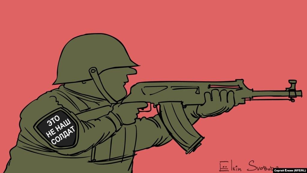 Russia – Cartoon of the day by Sergey Elkin