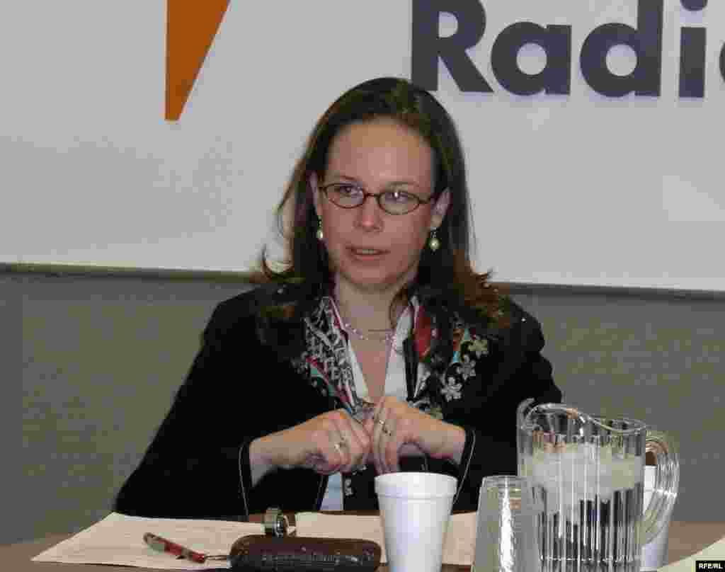 U.S. - Sabine Freizer, Caucasus Project Director, International Crisis Group, Freeze or Flux? Opportunities for Peace in Nagorno-Karabakh, Washington, DC, 28 Mar. 2006 - Sabine Freizer joined Crisis Group (www.crisisgroup.org) as Caucasus Project Director in July 2004. Since 1993, she has worked in the region in a variety of capacities, including consulting work with a host of international organizations and aid agencies. Dr. Freizer holds a Ph.D. from the London School of Economics, and a M.A. from the College of Europe (Bruges, Belgium).