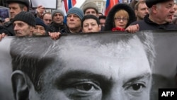 Акція з вшануваня пам'яті Бориса Нємцова, 1 березня 2015 року